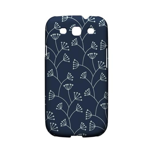 Simple Blue - Geeks Designer Line Floral Series Matte Case for Samsung Galaxy S3