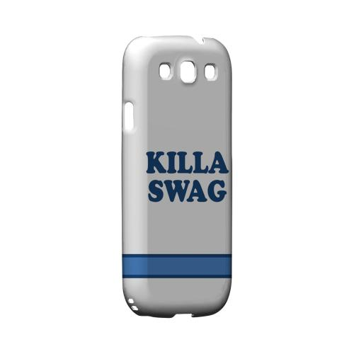 Killa Swag - Geeks Designer Line Swag Series Matte Case for Samsung Galaxy S3