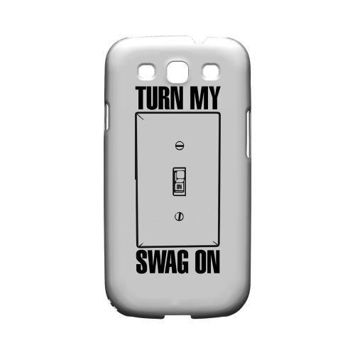 Light Switch - Geeks Designer Line Swag Series Matte Case for Samsung Galaxy S3