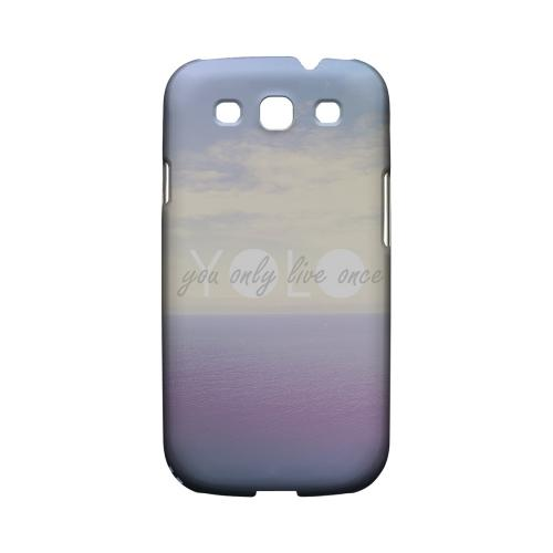 Filled YOLO - Geeks Designer Line YOLO Series Matte Case for Samsung Galaxy S3