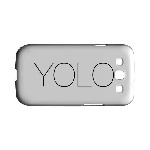 Thin YOLO - Geeks Designer Line YOLO Series Matte Case for Samsung Galaxy S3