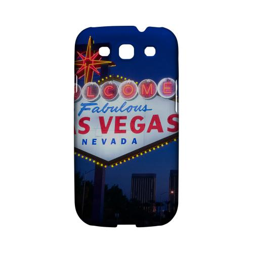 Las Vegas - Geeks Designer Line City Series Matte Case for Samsung Galaxy S3