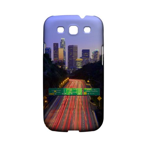 Los Angeles - Geeks Designer Line City Series Matte Case for Samsung Galaxy S3