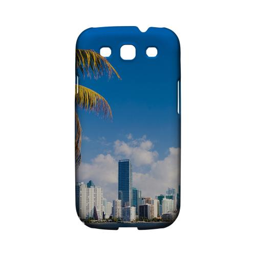 Miami - Geeks Designer Line City Series Matte Case for Samsung Galaxy S3