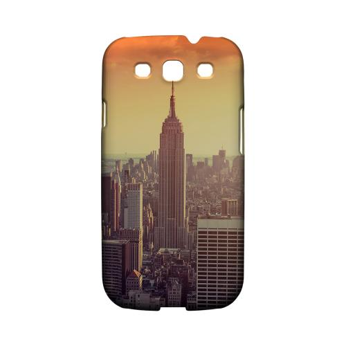 New York - Geeks Designer Line City Series Matte Case for Samsung Galaxy S3