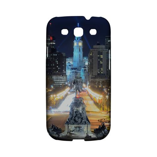 Philadelphia - Geeks Designer Line City Series Matte Case for Samsung Galaxy S3