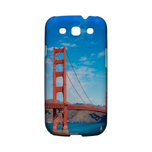 San Francisco - Geeks Designer Line City Series Matte Case for Samsung Galaxy S3