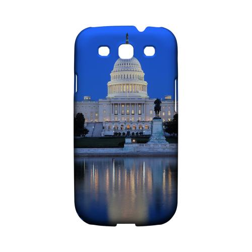 Washington D.C. - Geeks Designer Line City Series Matte Case for Samsung Galaxy S3