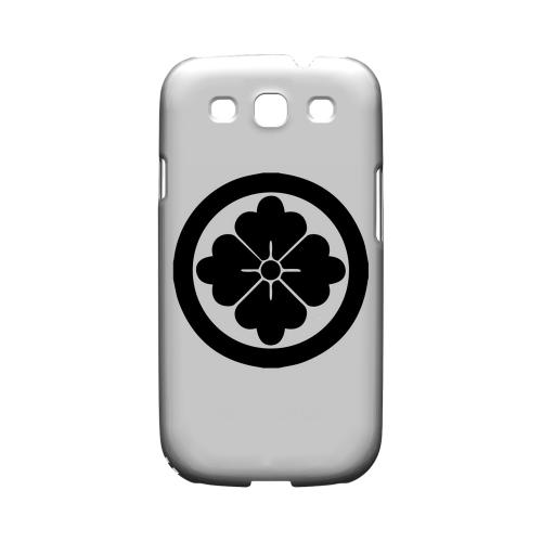 Hanabishi Kamon - Geeks Designer Line Tattoo Series Matte Case for Samsung Galaxy S3