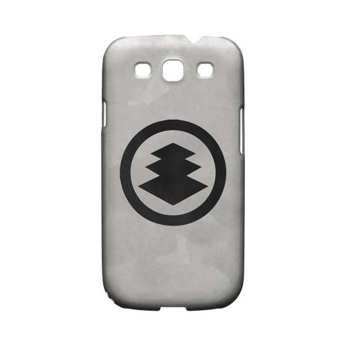 Hishi Kamon on Paper - Geeks Designer Line Tattoo Series Matte Case for Samsung Galaxy S3