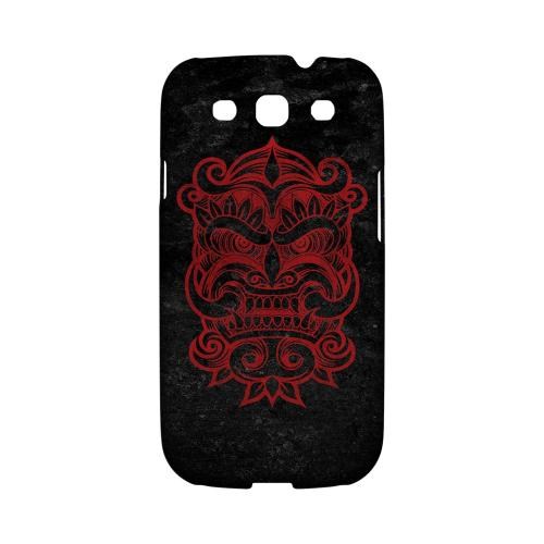 Red Devil Mask - Geeks Designer Line Tattoo Series Hard Case for Samsung Galaxy S3
