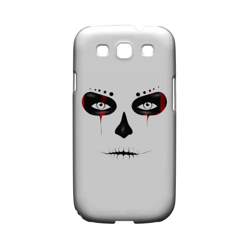 Skull Face Blood - Geeks Designer Line Tattoo Series Hard Case for Samsung Galaxy S3