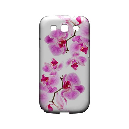 Orchids Orchids - Geeks Designer Line Floral Series Matte Case for Samsung Galaxy S3