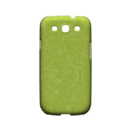 Floral 1 Tender Shoots - Geeks Designer Line Pantone Color Series Matte Case for Samsung Galaxy S3