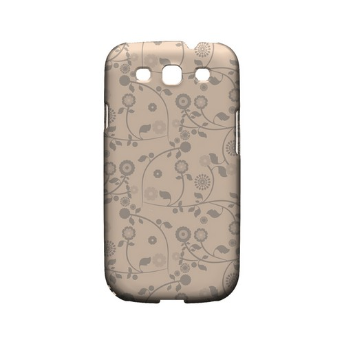 Floral 2 Linen - Geeks Designer Line Pantone Color Series Matte Case for Samsung Galaxy S3