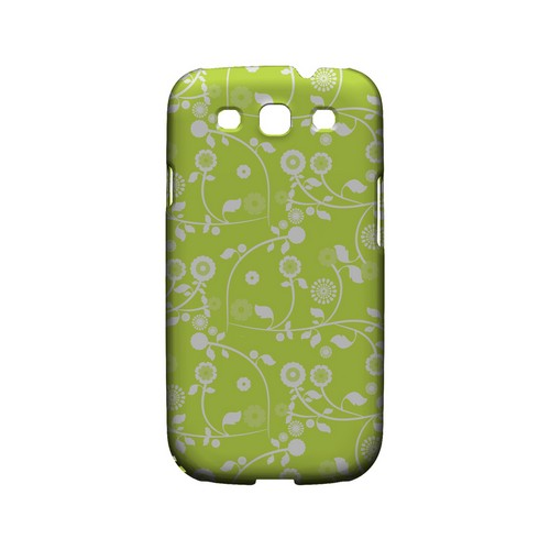 Floral 2 Tender Shoots - Geeks Designer Line Pantone Color Series Matte Case for Samsung Galaxy S3
