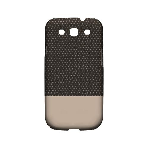 Little Circle Dots Linen - Geeks Designer Line Pantone Color Series Matte Case for Samsung Galaxy S3