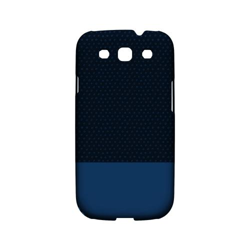 Little Circle Dots Monaco Blue - Geeks Designer Line Pantone Color Series Matte Case for Samsung Galaxy S3