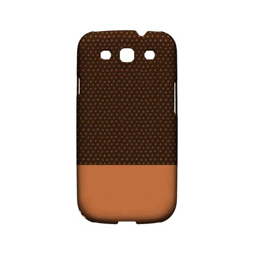 Little Circle Dots Nectarine - Geeks Designer Line Pantone Color Series Matte Case for Samsung Galaxy S3