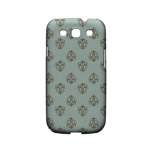 Ornamental Dusk Blue - Geeks Designer Line Pantone Color Series Matte Case for Samsung Galaxy S3