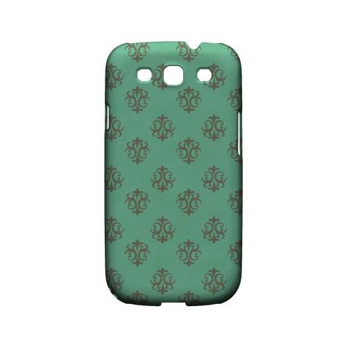Ornamental Emerald - Geeks Designer Line Pantone Color Series Matte Case for Samsung Galaxy S3