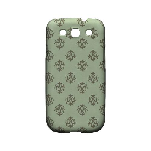 Ornamental Grayed Jade - Geeks Designer Line Pantone Color Series Matte Case for Samsung Galaxy S3
