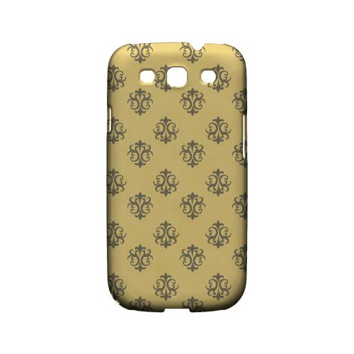 Ornamental Lemon Zest - Geeks Designer Line Pantone Color Series Matte Case for Samsung Galaxy S3