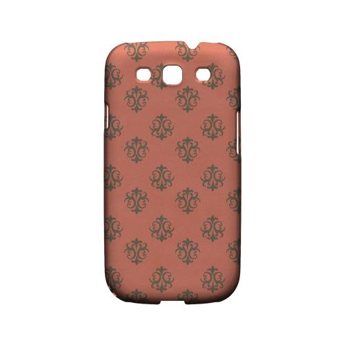 Ornamental Poppy Red - Geeks Designer Line Pantone Color Series Matte Case for Samsung Galaxy S3