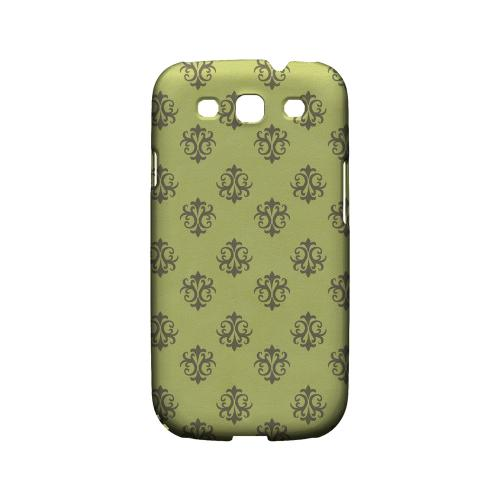 Ornamental Tender Shoots - Geeks Designer Line Pantone Color Series Matte Case for Samsung Galaxy S3