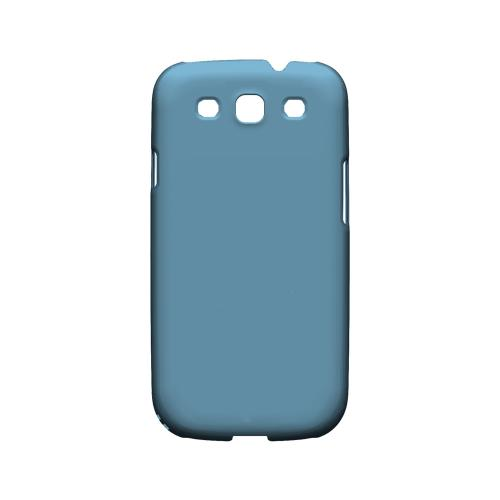 S13 Pantone Dusk Blue - Geeks Designer Line Pantone Color Series Matte Case for Samsung Galaxy S3