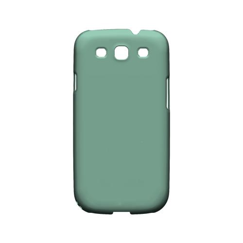 S13 Pantone Grayed Jade - Geeks Designer Line Pantone Color Series Matte Case for Samsung Galaxy S3