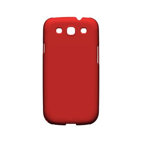 S13 Pantone Poppy Red - Geeks Designer Line Pantone Color Series Matte Case for Samsung Galaxy S3