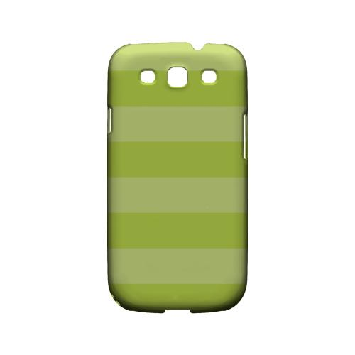 Stripes Tender Shoots - Geeks Designer Line Pantone Color Series Matte Case for Samsung Galaxy S3