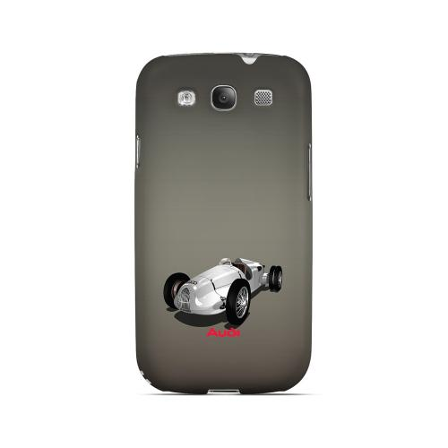 Classic Audi Race Car - Geeks Designer Line Auto Series Matte Case for Samsung Galaxy S3