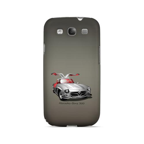 Classic Benz 300 Fade - Geeks Designer Line Auto Series Matte Case for Samsung Galaxy S3