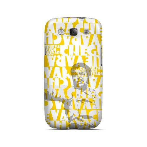 Che Guevara Discurso Faded Yellow - Geeks Designer Line Revolutionary Series Matte Case for Samsung Galaxy S3