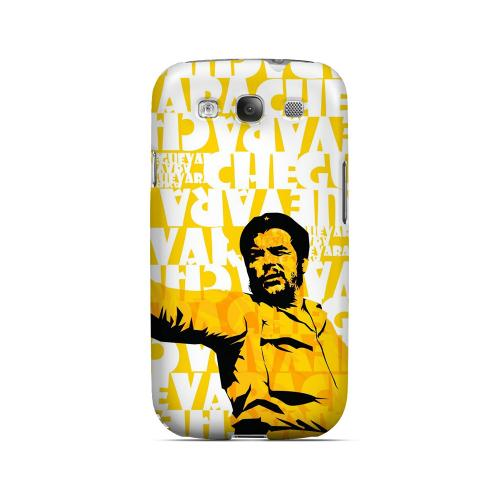 Che Guevara Discurso Pure Yellow - Geeks Designer Line Revolutionary Series Matte Case for Samsung Galaxy S3