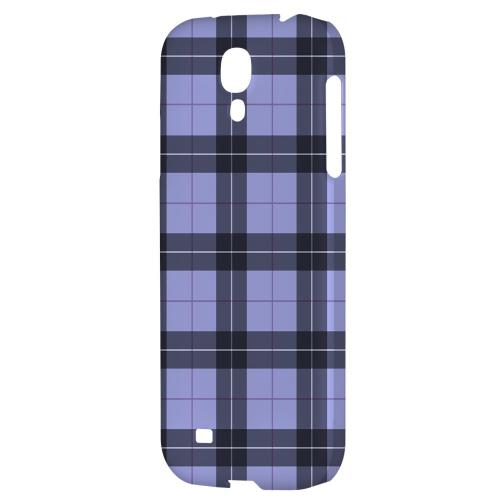 Scottish-Like Plaid in Purple - Geeks Designer Line Checker Series Hard Back Case for Samsung Galaxy S4