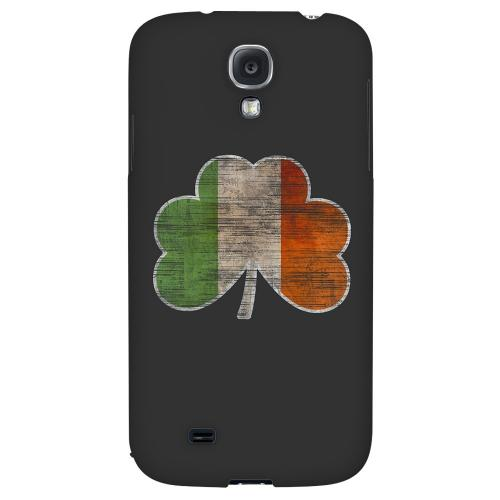 Irish Clover Flag - Geeks Designer Line Holiday Series Hard Back Case for Samsung Galaxy S4