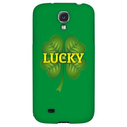 Lucky - Geeks Designer Line Holiday Series Hard Back Case for Samsung Galaxy S4