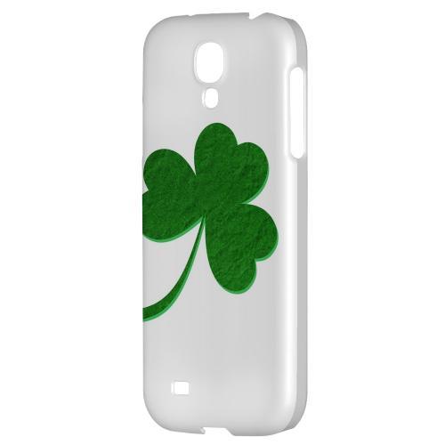 Simple Clover - Geeks Designer Line Holiday Series Hard Back Case for Samsung Galaxy S4