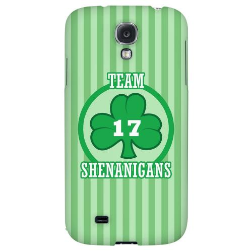 Team Shenanigans - Geeks Designer Line Holiday Series Hard Back Case for Samsung Galaxy S4