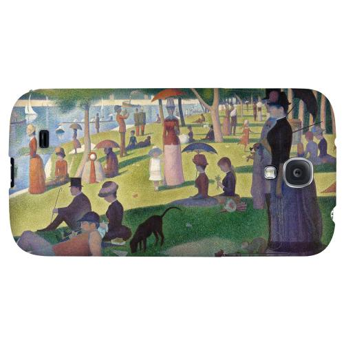 Georges Seurat Sunday Afternoon on the Island of La Grand Jatte - Geeks Designer Line Artist Series Hard Back Case for Samsung Galaxy S4