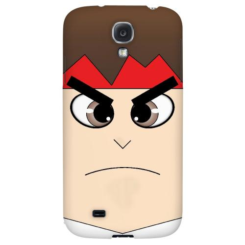 Hadoryu - Geeks Designer Line Toon Series Hard Back Case for Samsung Galaxy S4
