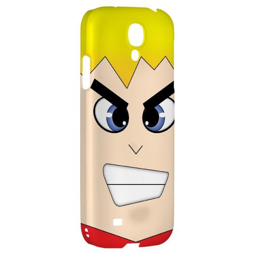 Shoken - Geeks Designer Line Toon Series Hard Back Case for Samsung Galaxy S4
