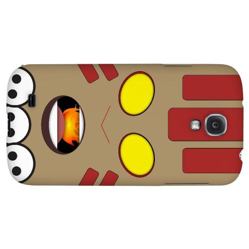 Yogayoga - Geeks Designer Line Toon Series Hard Back Case for Samsung Galaxy S4