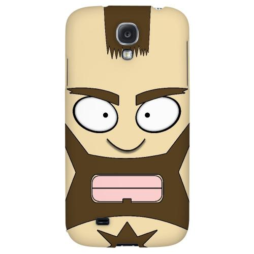 Zman - Geeks Designer Line Toon Series Hard Back Case for Samsung Galaxy S4