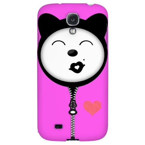 Kissycat - Geeks Designer Line Toon Series Hard Back Case for Samsung Galaxy S4
