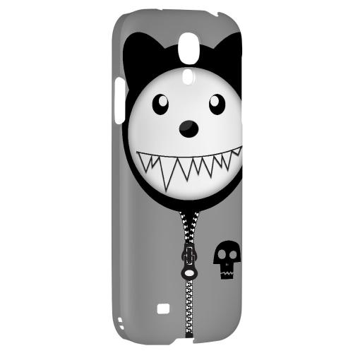 Grimmycat - Geeks Designer Line Toon Series Hard Back Case for Samsung Galaxy S4