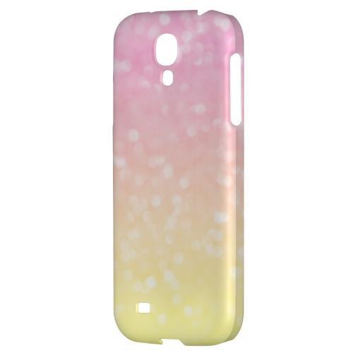 Bubble Gum Squeeze - Geeks Designer Line Ombre Series Hard Back Case for Samsung Galaxy S4